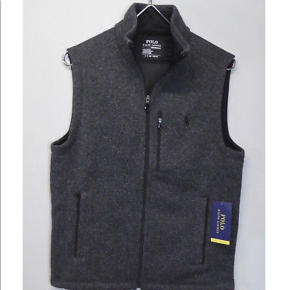 Vest Performance Fleece Nwt Polo Knit Lauren Ralph 8Xn0kPwO